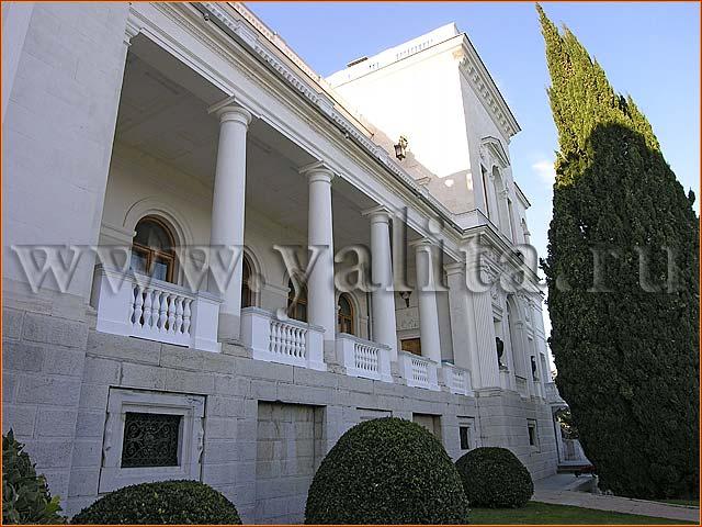 дворец в Ливадии